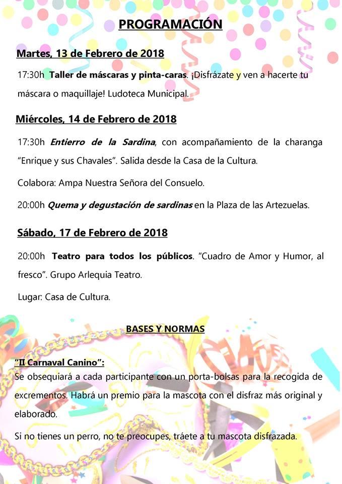Carnaval 2018 - Logrosán (Cáceres) 3