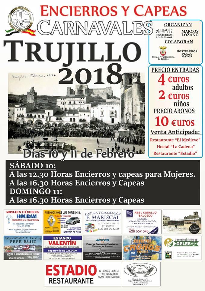 Encierros y Capeas 2018 - Trujillo