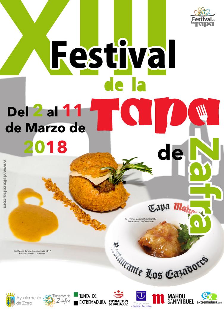 XIII Festival de la Tapa - Zafra