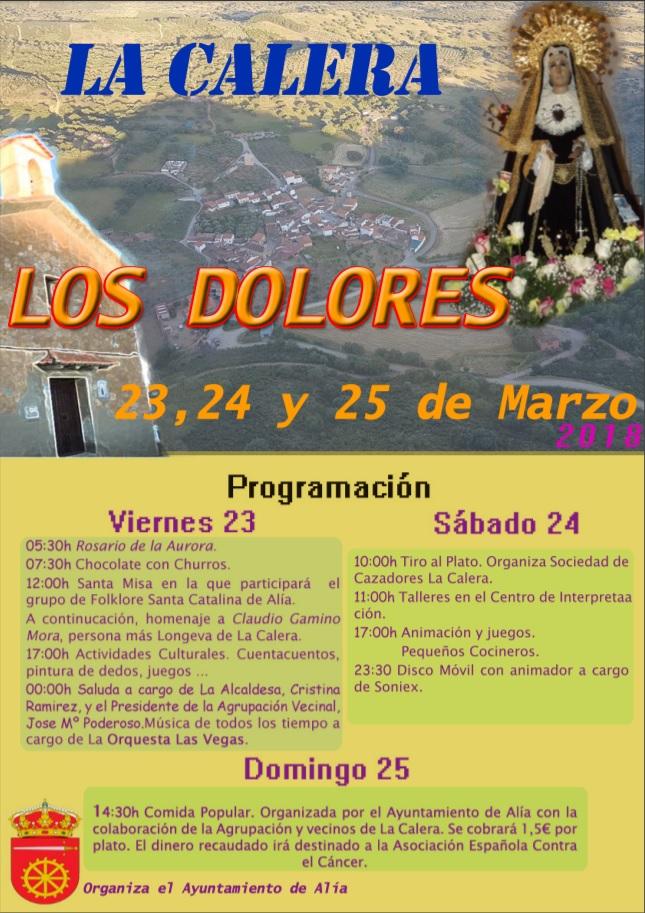 Los Dolores 2018 - La Calera
