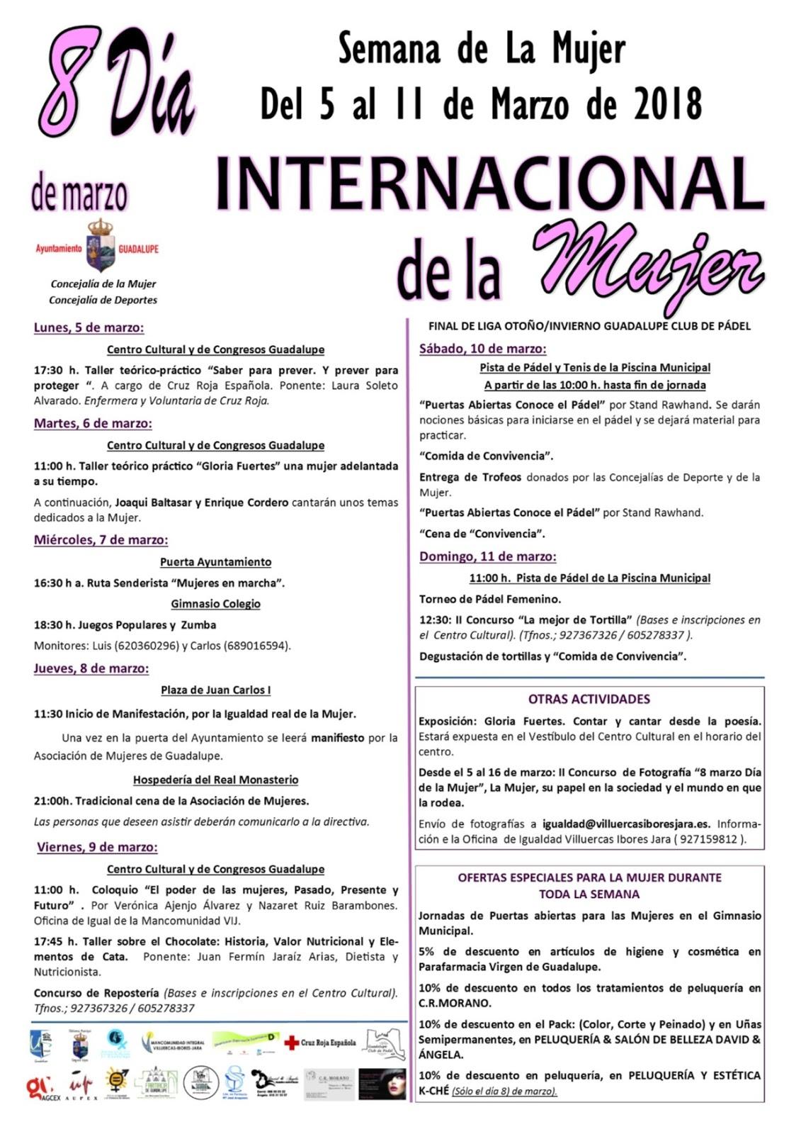 Semana de la Mujer 2018 - Guadalupe