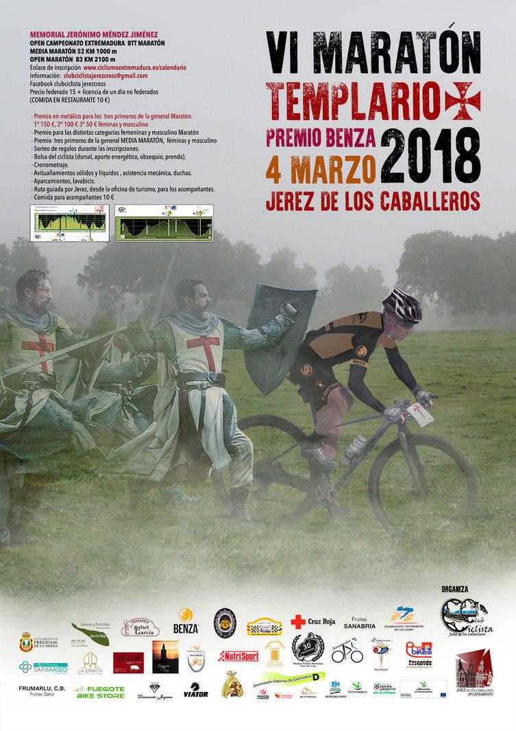 VI Maratón templario - Jerez de los Caballeros (Badajoz)