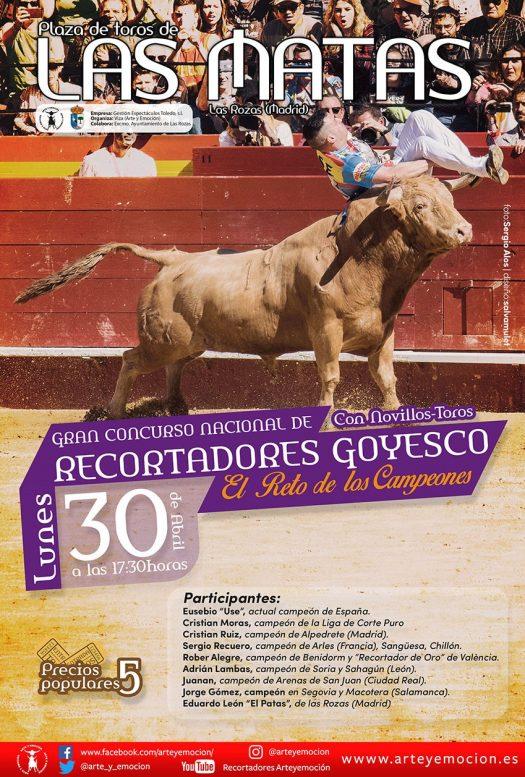 Gran concurso nacional de recortadores Goyesco 2018 - Las Rozas