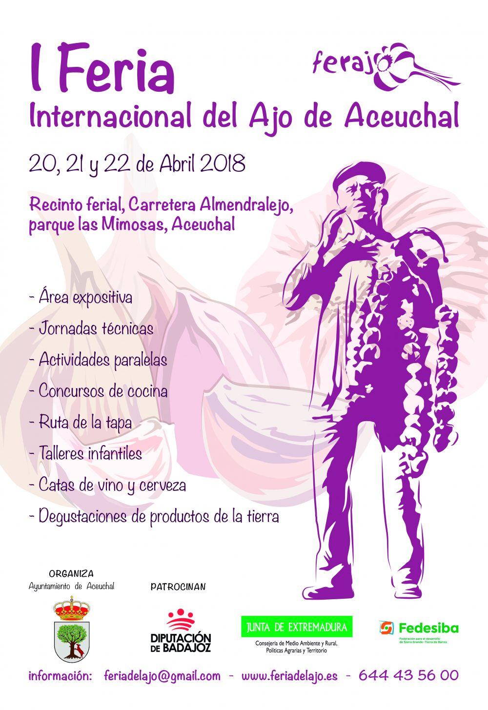 I Feria internacional del ajo - Aceuchal