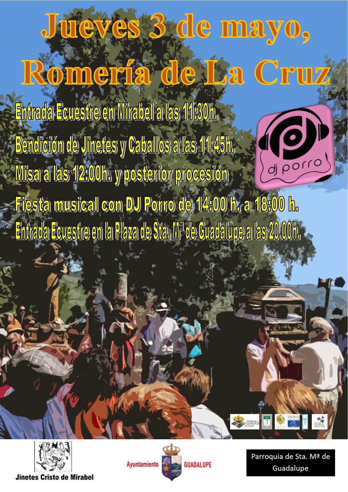 Romería de La Cruz 2018 - Guadalupe