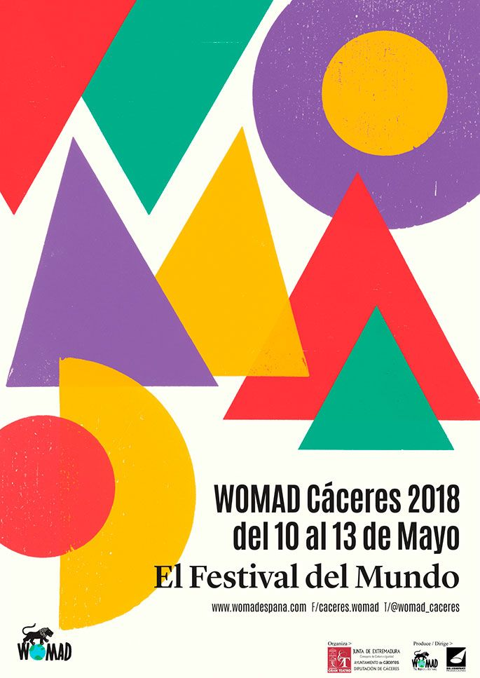 WOMAD 2018 - Cáceres