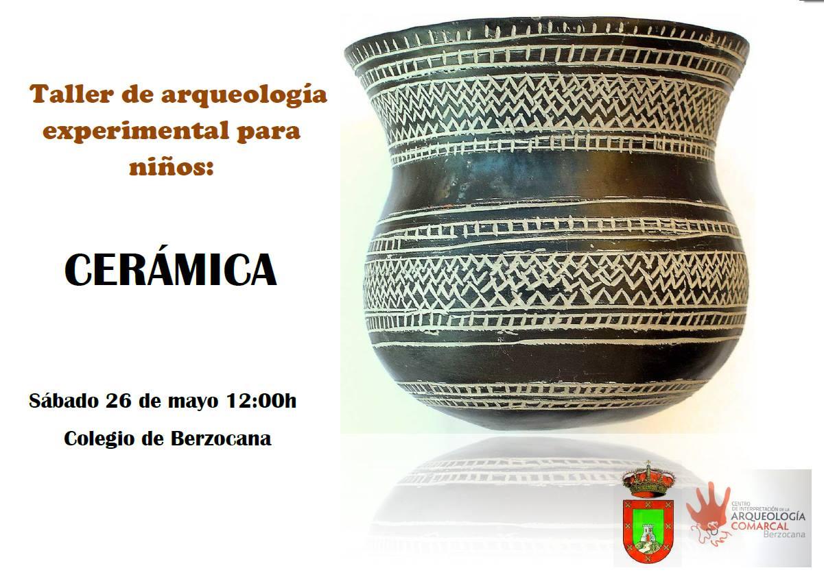 Arqueología experimental para niños 2018 - Berzocana