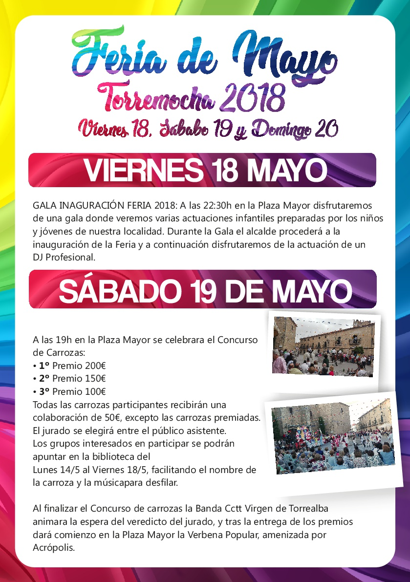 Feria de Mayo 2018 - Torremocha 1