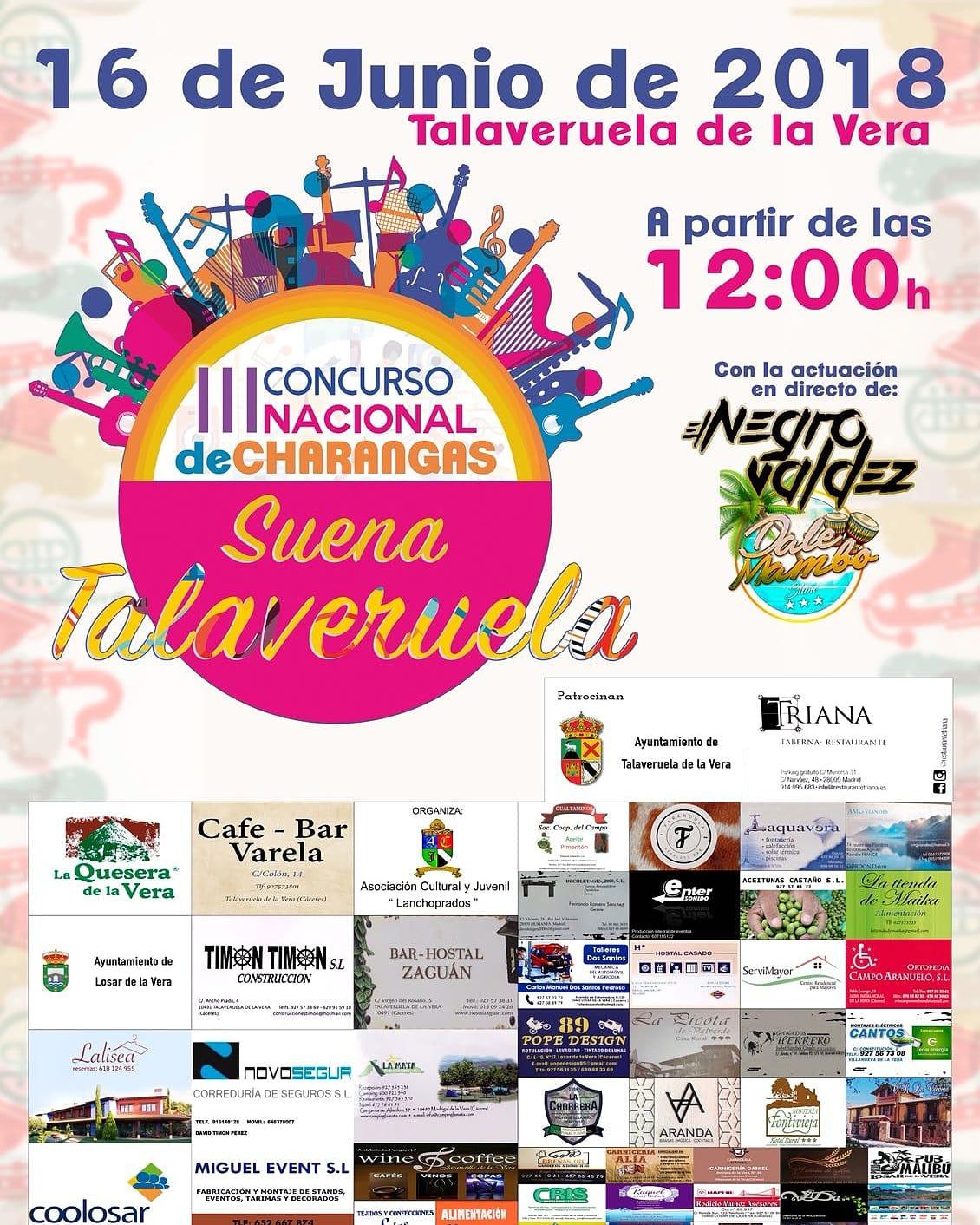 III Concurso nacional de charangas - Talaveruela de la Vera
