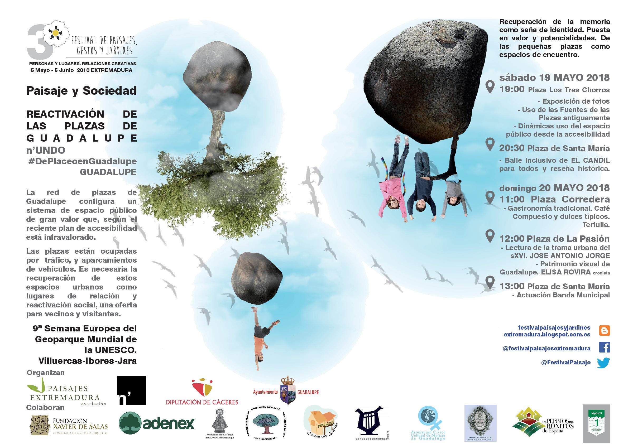 III Festival de paisajes, gestos y jardines - Guadalupe