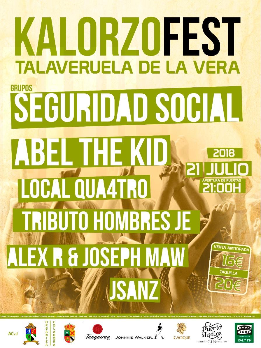 Kalorzofest 2018 - Talaveruela de la Vera
