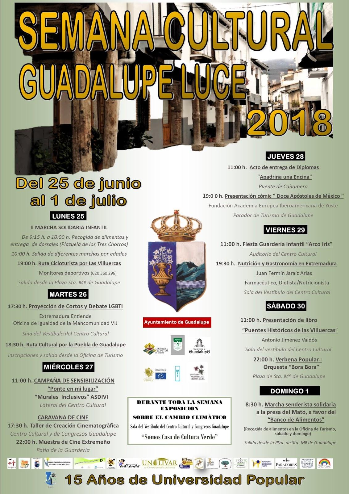 Semana Cultural Guadalupe Luce 2018