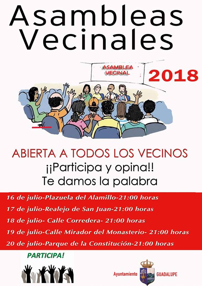 Asambleas vecinales 2018 - Guadalupe