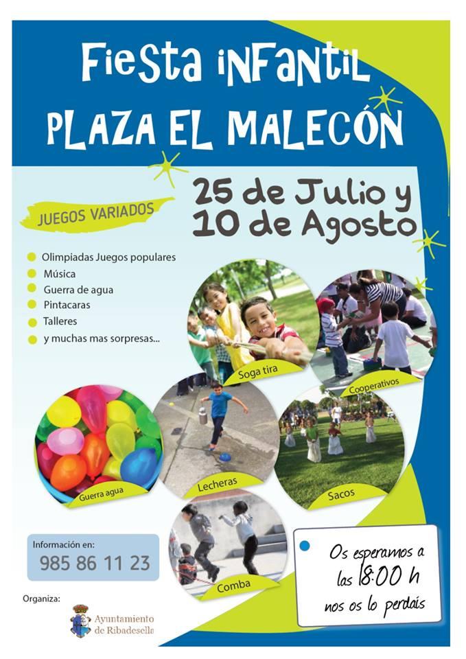 Fiesta infantil verano 2018 - Ribadesella