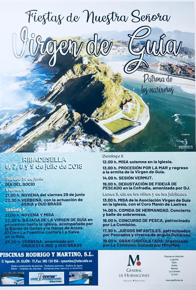 Fiestas Virgen de Guía 2018 - Ribadesella