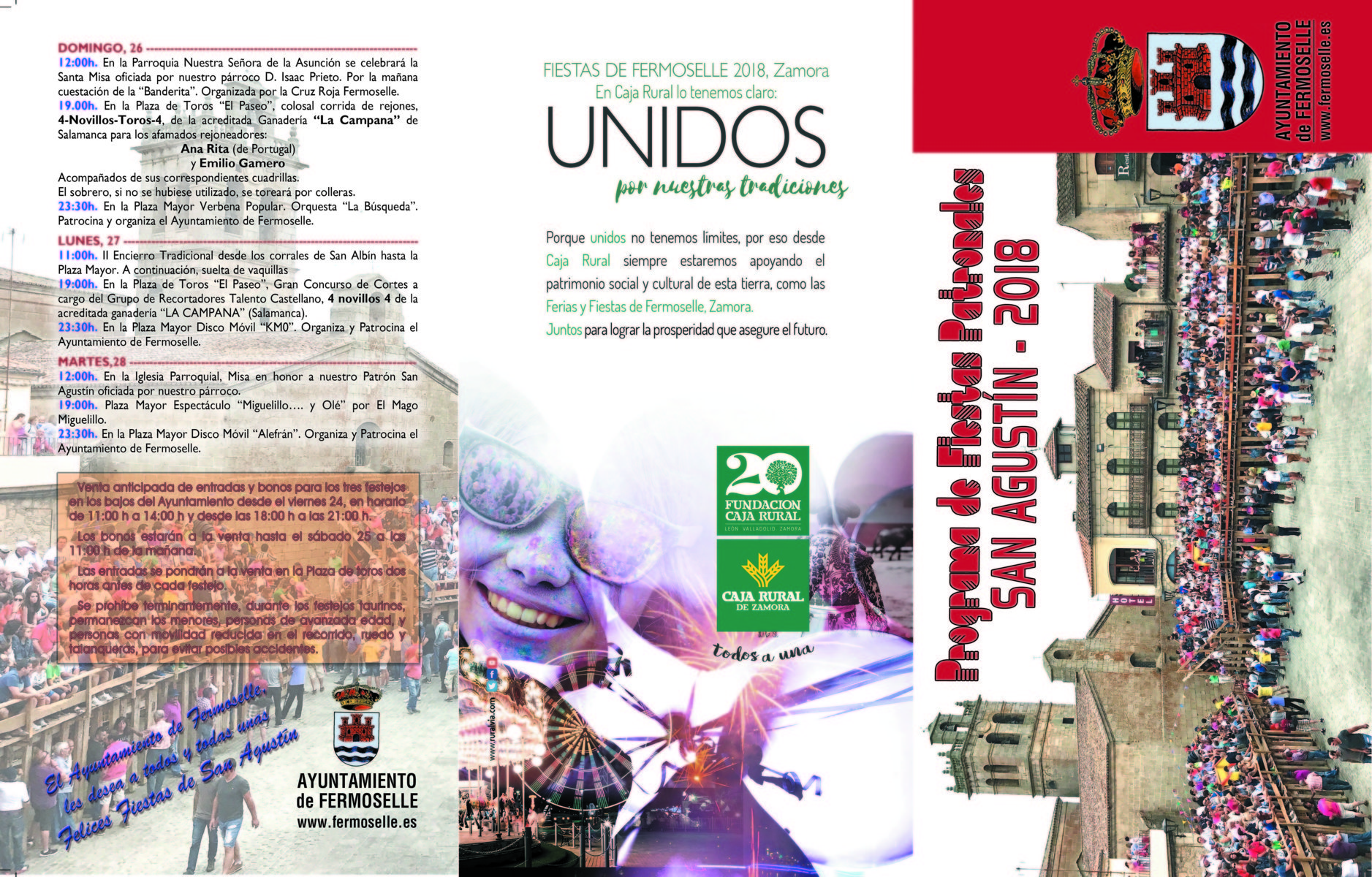 Fiestas en honor a San Agustín 2018 - Fermoselle 2