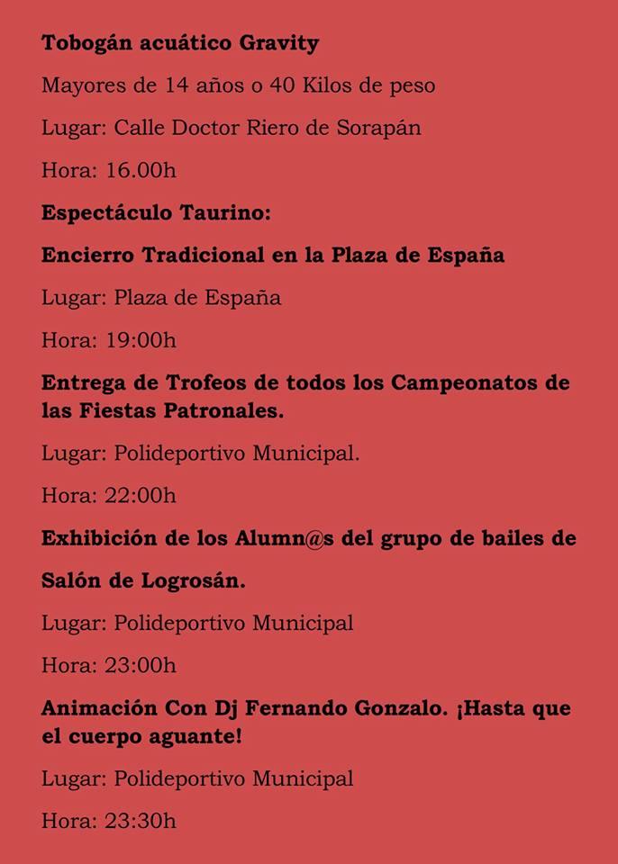 Fiestas patronales 2018 - Logrosán 11