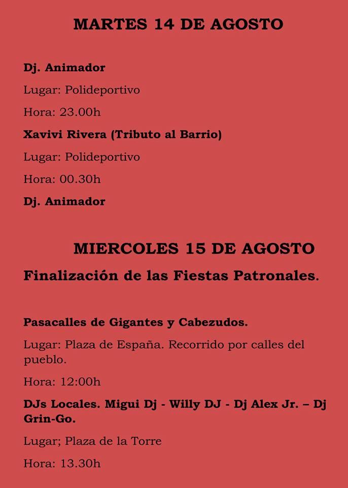 Fiestas patronales 2018 - Logrosán 12