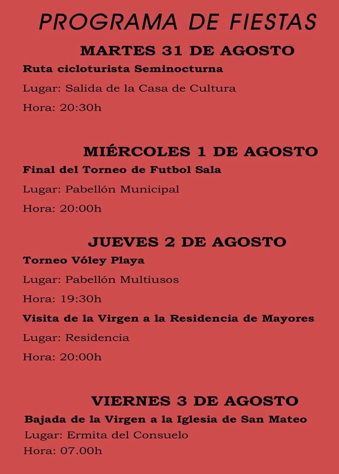 Fiestas patronales 2018 - Logrosán 2