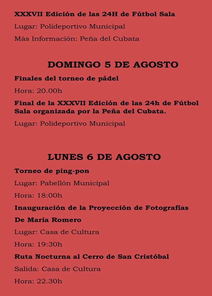 Fiestas patronales 2018 - Logrosán 4