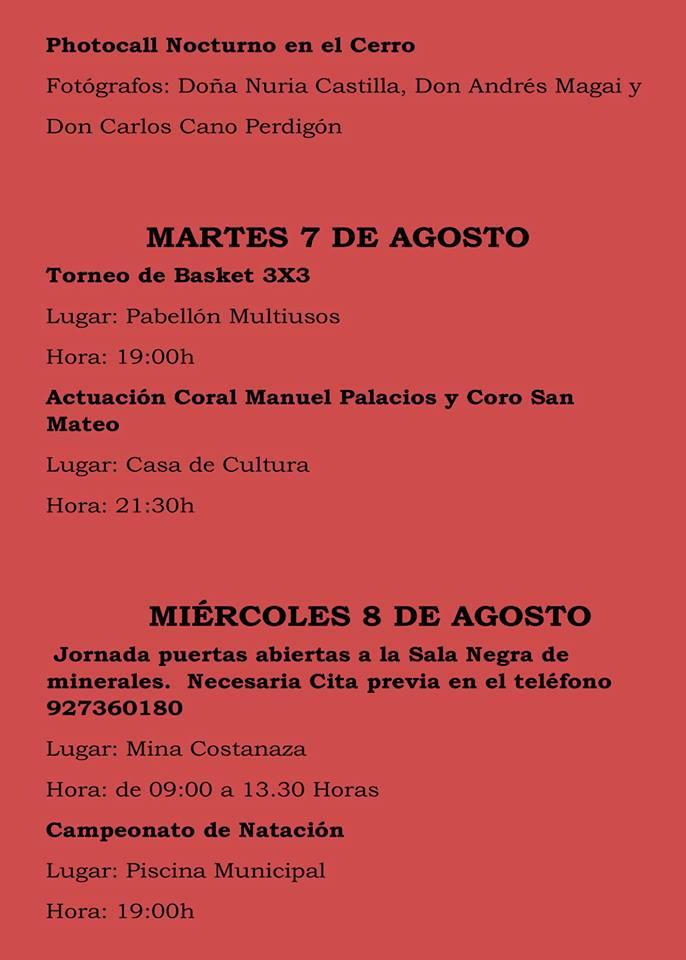Fiestas patronales 2018 - Logrosán 5
