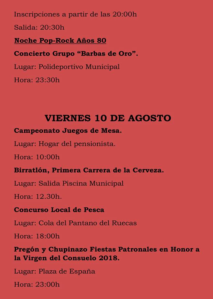 Fiestas patronales 2018 - Logrosán 7