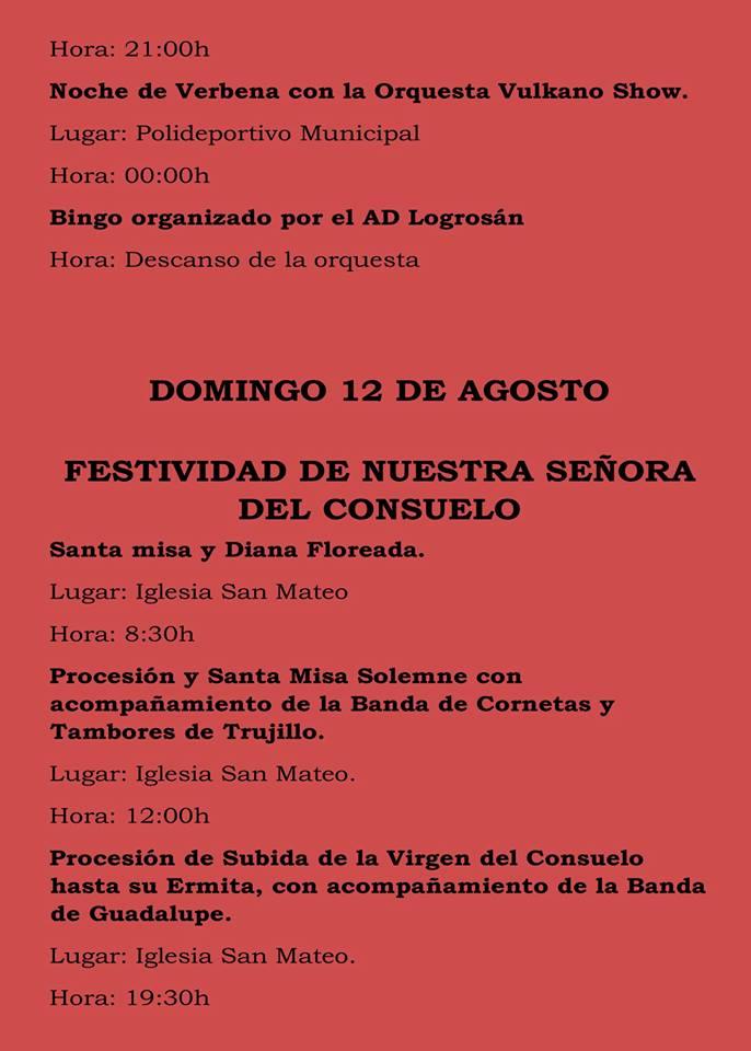 Fiestas patronales 2018 - Logrosán 9