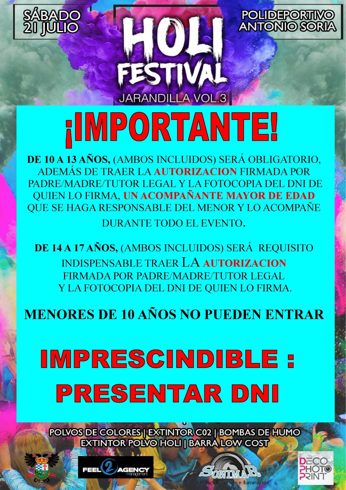 Holi festival 2018 - Jarandilla de la Vera