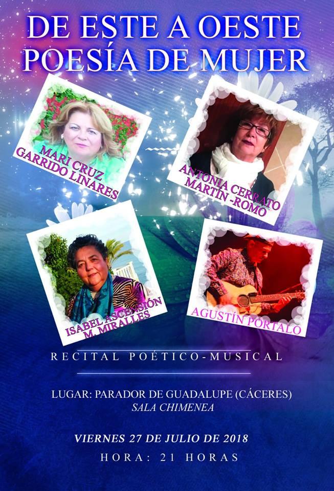 Recital poético-musical 2018 - Guadalupe