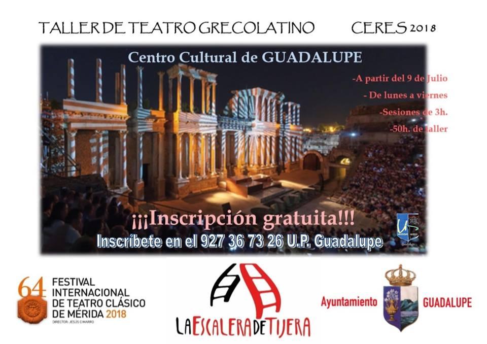 Teatro grecolatino 2018 - Guadalupe