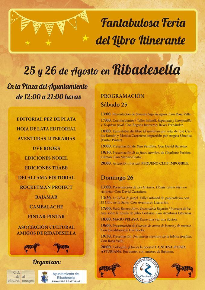 Fantabulosa feria del libro itinerante 2018 - Ribadesella (Asturias)