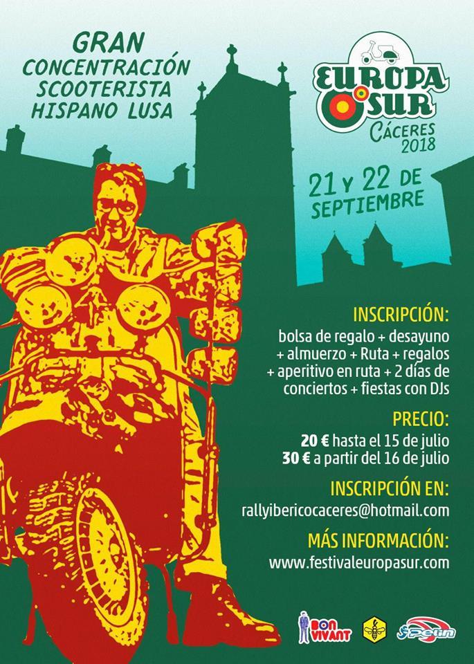 Festival Europa Sur 2018 - Cáceres