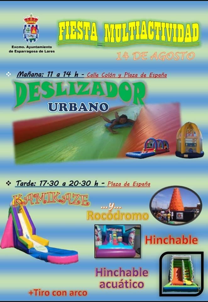 Fiesta multiactividad 2018 - Esparragosa de Lares