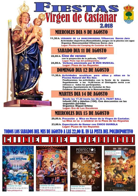 Fiestas Virgen de Castañar 2018 - Castañar de Ibor