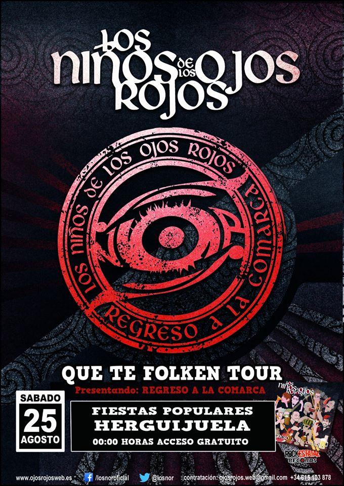 Los Niños de los Ojos Rojos 2018 - Herguijuela (Cáceres)