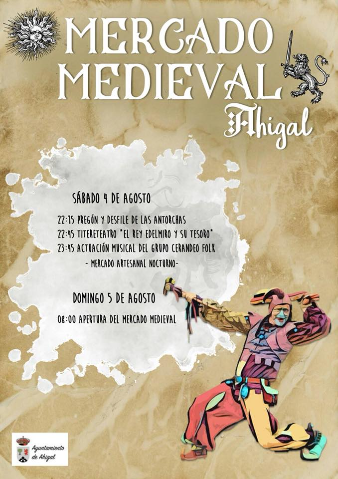 Mercado medieval 2018 - Ahigal