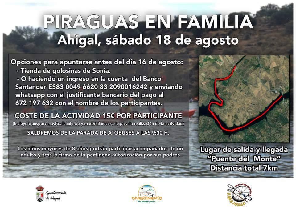 Piragüas en familia 2018 - Ahigal