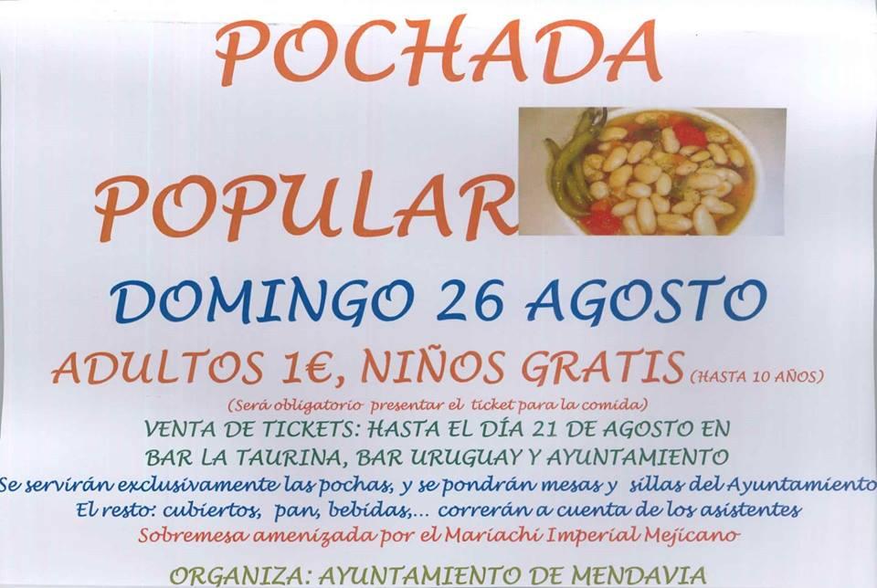 Pochada popular agosto 2018 - Mendavia (Navarra)