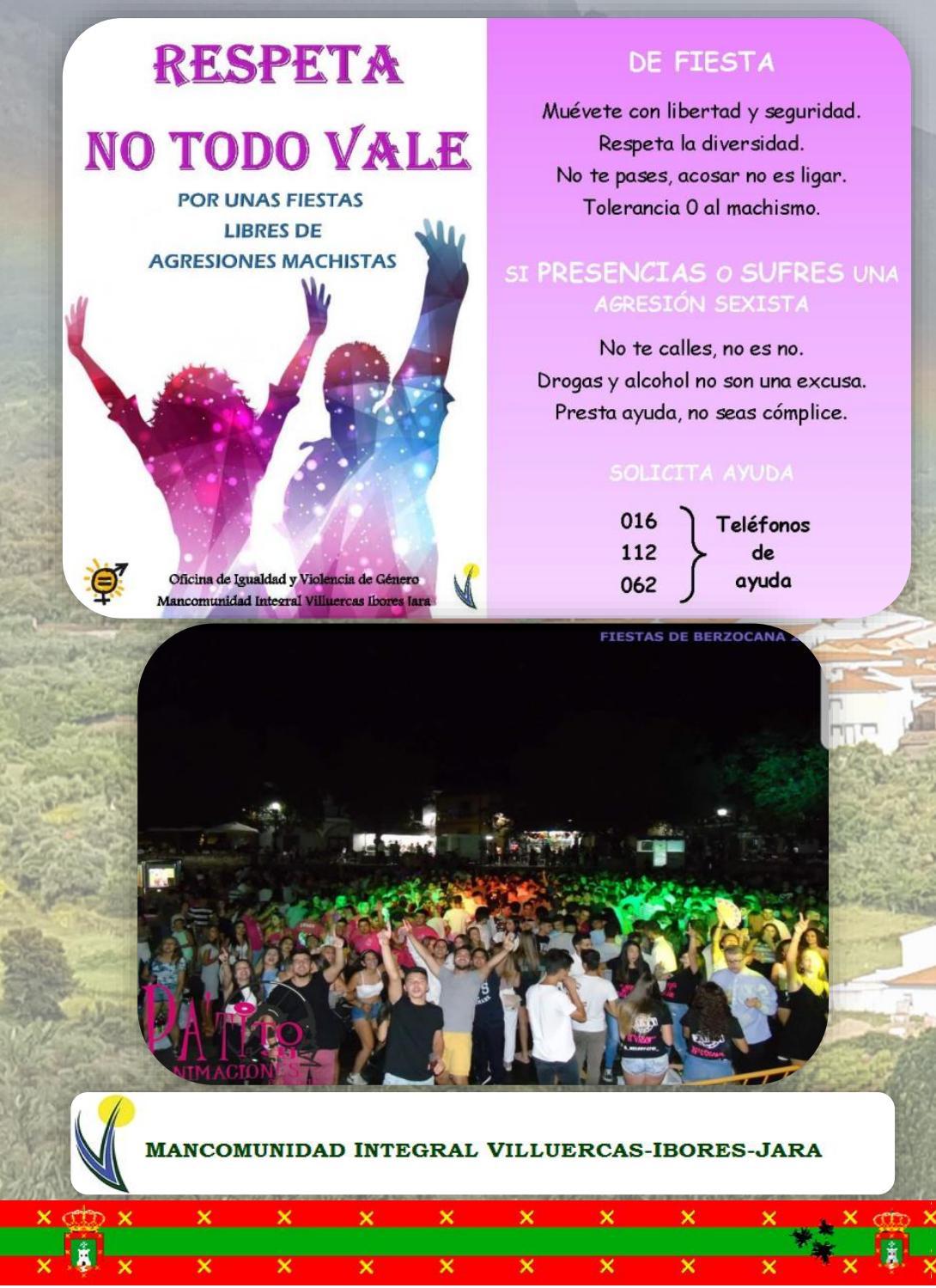 Programa de fiestas en honor a San Fulgencio y Santa Florentina 2018 - Berzocana 10