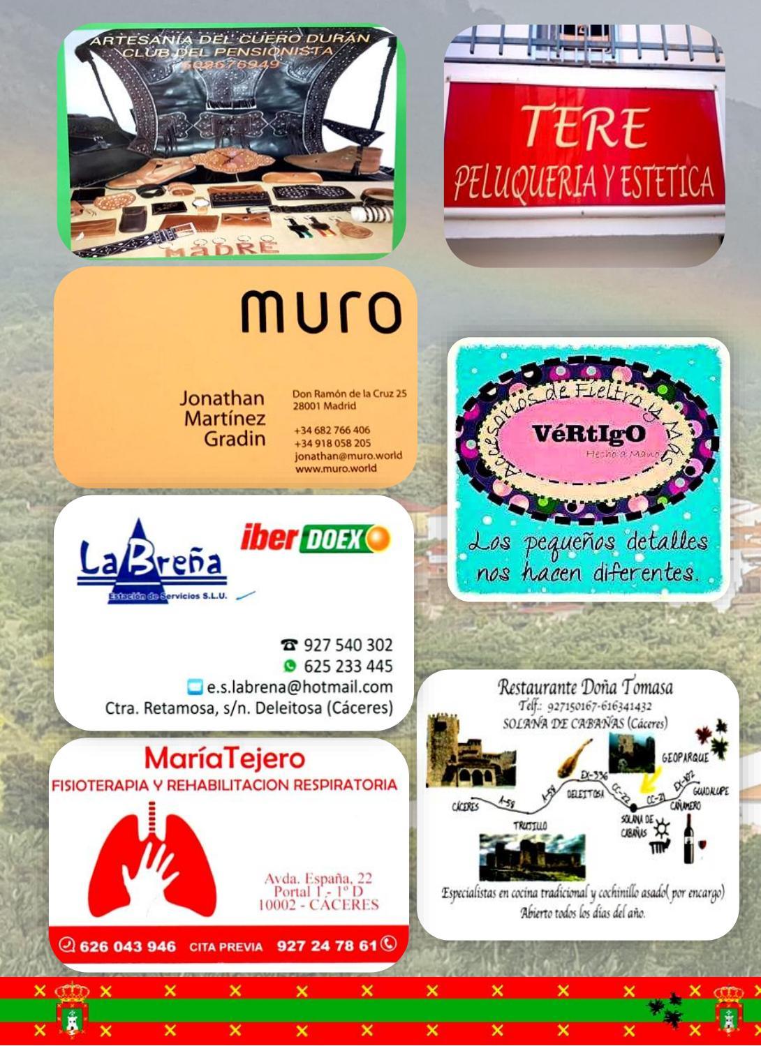 Programa de fiestas en honor a San Fulgencio y Santa Florentina 2018 - Berzocana 16