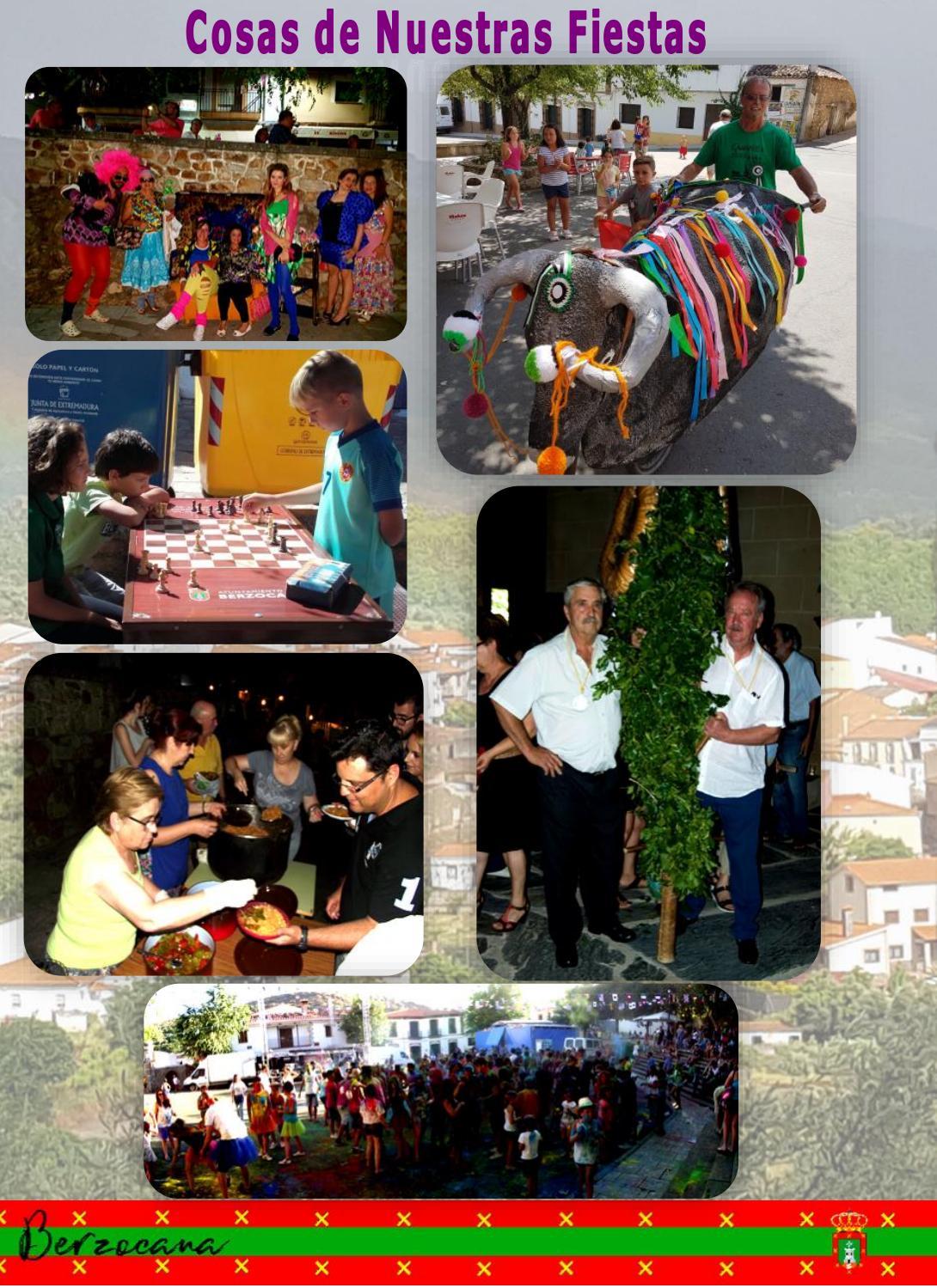 Programa de fiestas en honor a San Fulgencio y Santa Florentina 2018 - Berzocana 19