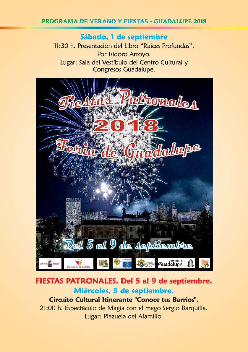 Programa de verano y fiestas 2018 - Guadalupe 10