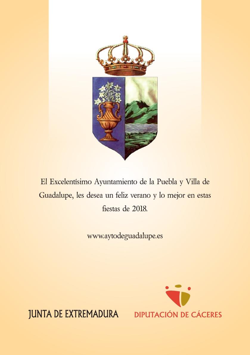 Programa de verano y fiestas 2018 - Guadalupe 20