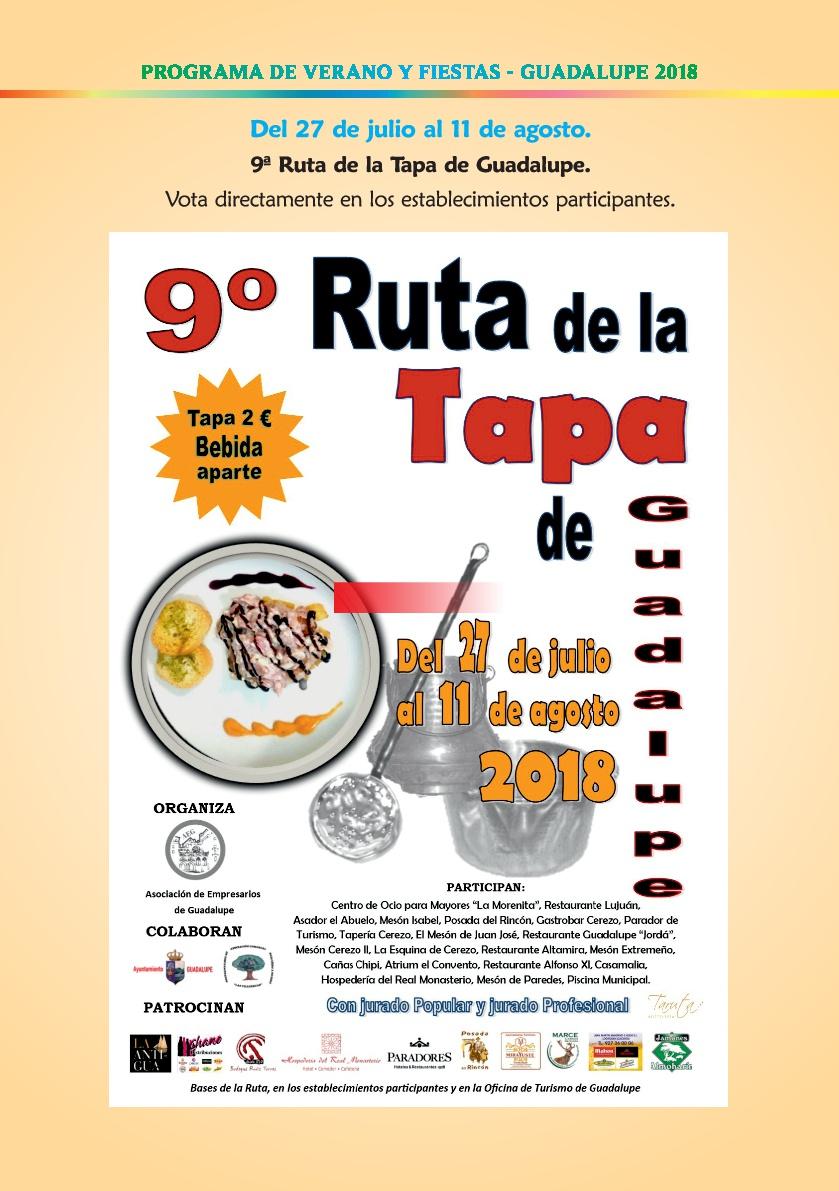 Programa de verano y fiestas 2018 - Guadalupe 4