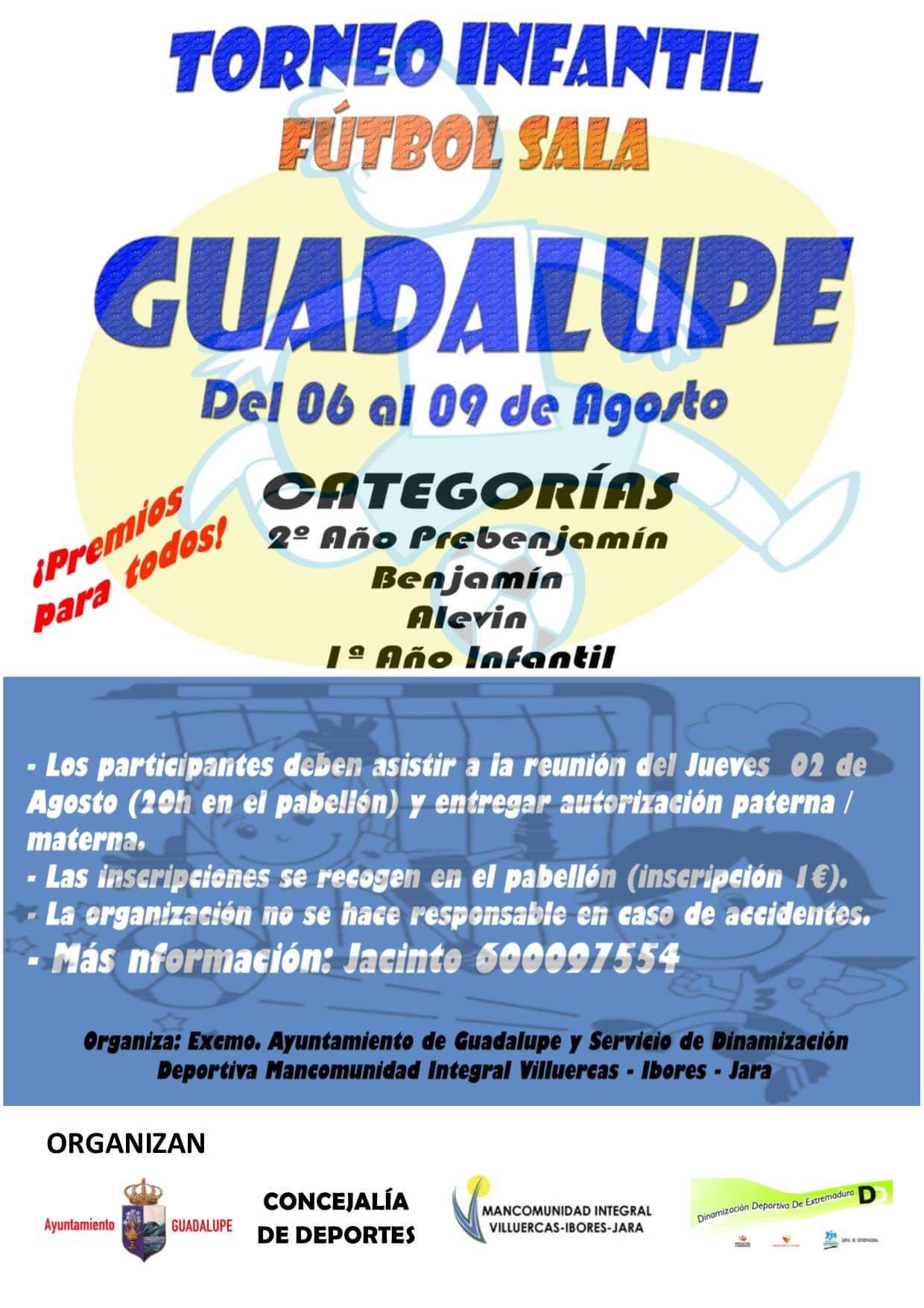 Torneo infantil de fútbol sala 2018 - Guadalupe