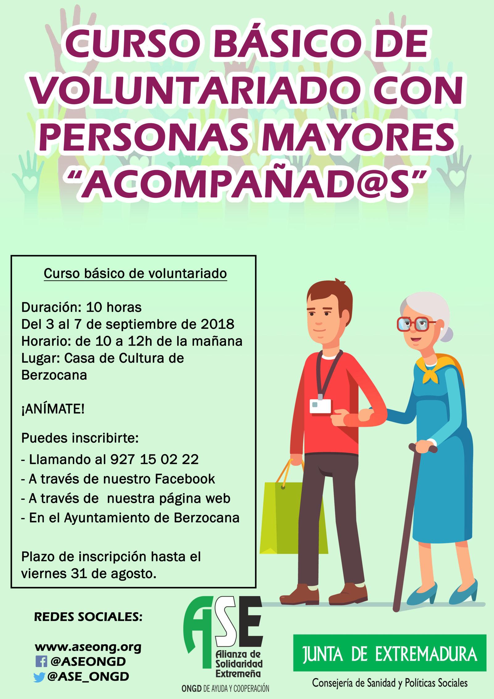 Voluntariado con personas mayores 2018 - Berzocana (Cáceres)