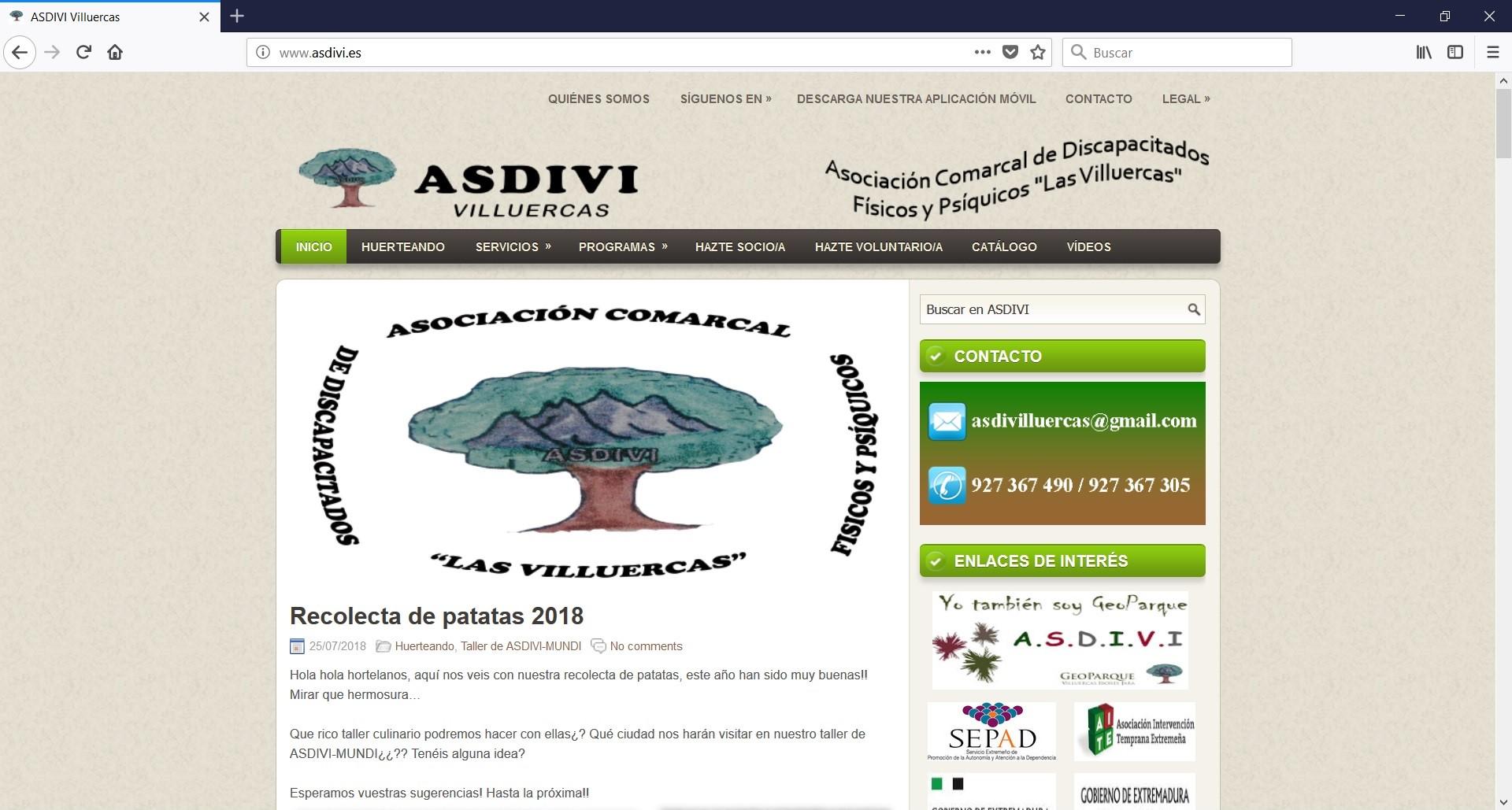 Web ASDIVI