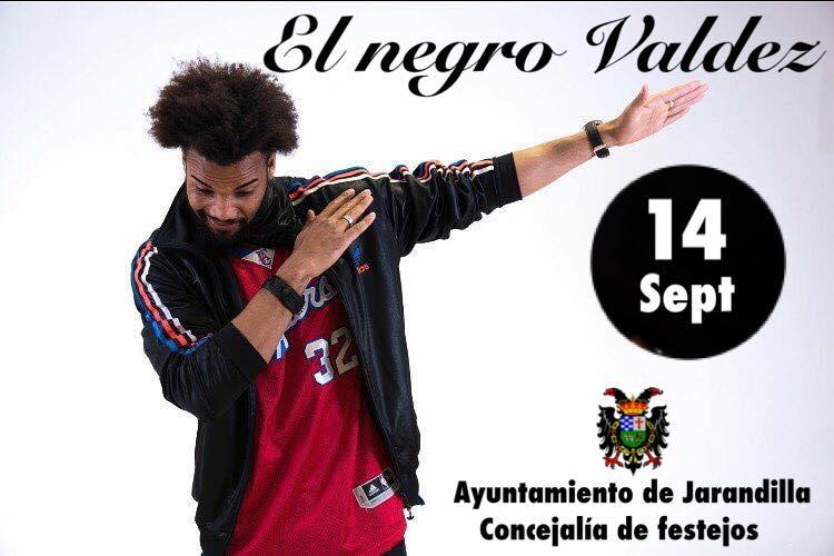 El negro Valdez 2018 - Jarandilla de la Vera (Cáceres)
