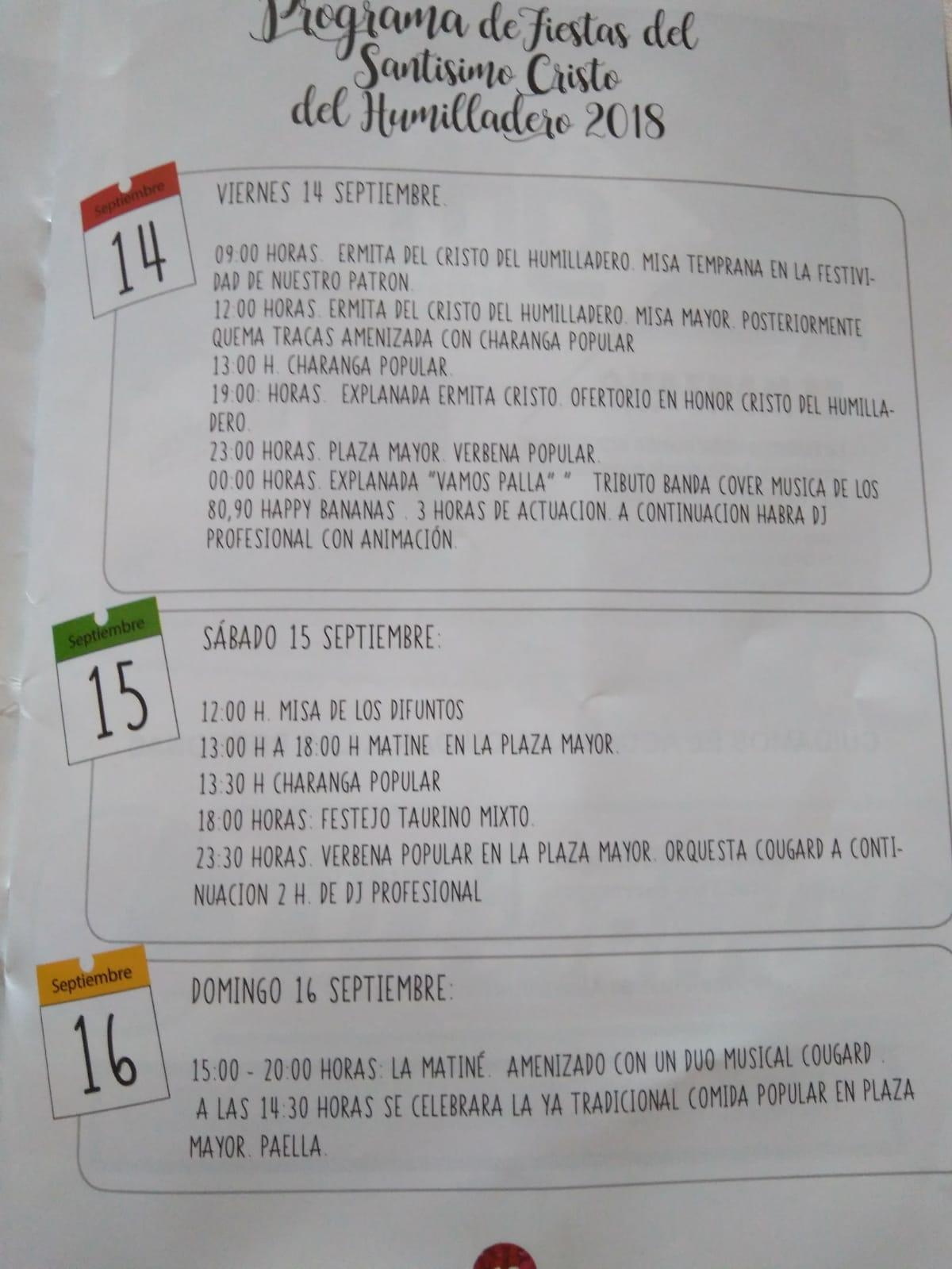 Fiestas patronales 2018 - Torremocha (Cáceres) 2