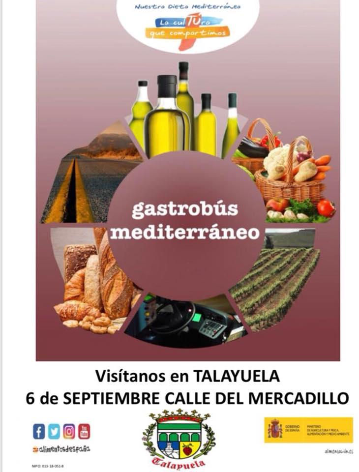 Gastrobús mediterráneo 2018 - Talayuela (Cáceres) 1